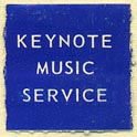 Keynote Music Service, Los Angeles, California (20mm x 20mm)