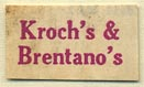 Kroch's & Brentano's, Chicago, Illinois (20mm x 12mm)
