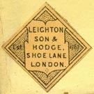 Leighton, Son & Hodge, London, England (22mm x 22mm)