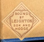 Leighton, Son & Hodge, London, England (25mm x 24mm, ca.1911?)