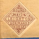 Leighton, Son & Hodge, London, England (23mm x 23mm, ca.1913?)