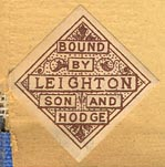 Leighton, Son & Hodge, London, England (24mm x 24mm, 1888?)