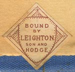 Leighton, Son & Hodge, London, England (24mm x 23mm, ca.1905?)