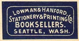 Lowman & Hanford, Seattle, Washington (25mm x 13mm, before 1910)