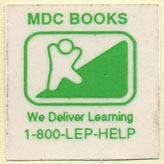 MDC Books (26mm x 25mm). Michael di Capua Books? (Imprint of Scholastic)