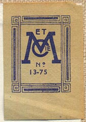 Masson et Cie., Paris, France (26mm x 40mm, ca.1952)