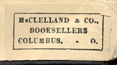 McClelland & Co., Booksellers, Columbus, Ohio