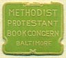 Methodist Protestant Book Concern, Baltimore, Maryland (15mm x 13mm)