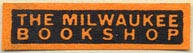 The Milwaukee Bookshop, Milwaukee, Wisconsin (31mm x 8mm)