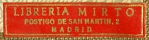 Libreria Mirto, Madrid [Spain] (35mm x 8mm, ca.1961)