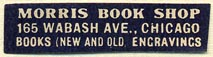 Morris Book Shop, Chicago, Illinois (35mm x 9mm)