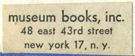 Museum Books, New York (32mm x 13mm)