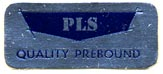 PLS [Library Bindery] (26mm x 11mm). Courtesy of Donald Francis.