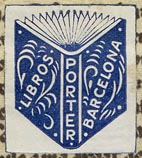 Porter, Barcelona, Spain (22mm x 25mm, ca.1965).