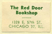 The Red Door Bookshop, Chicago, Illinois (34mm x 22mm)