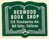Redwood Book Shop, Mill Valley, California (28mm x 21mm)