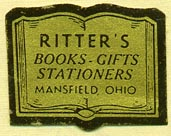 Ritter's, Mansfield, Ohio (27mm x 21mm)