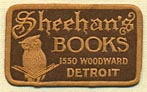 Sheehan's Books, Detroit, Michigan (23mm x 14mm). Courtesy of Donald Francis.