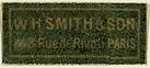 W.H. Smith & Son, Paris, France (22mm x 9mm). Courtesy of S. Loreck.