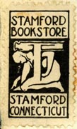 Stamford Bookstore, Stamford, Connecticut (17mm x 30mm, after 1930). Courtesy of Robert Behra.
