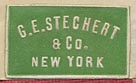 G.E. Stechert & Co., New York