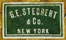 G.E. Stechert & Co., New York  (21mm x 12mm)