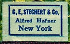 G.E. Stechert & Co., New York (22mm x 14mm)