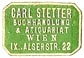 Carl Stetter, Buchhandlung & Antiquariat, Vienna, Austria (20mm x 13mm). Courtesy of S. Loreck.