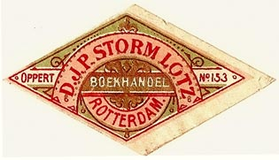 D.J.P. Storm Lotz, Rotterdam, Netherlands (50mm x 28mm). Courtesy of S. Loreck.