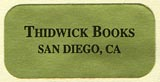 Thidwick Books, San Diego, California (25mm x 13mm, ca.1990s).