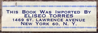 Eliseo Torres, New York (52mm x 17mm)