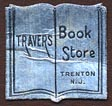 Travers Book Store, Trenton, New Jersey (17mm x 17mm). Courtesy of Donald Francis.