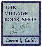 The Village Book Shop, Carmel, California (24mm x 26mm). Courtesy of S. Loreck.