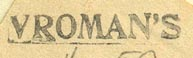 Vroman's, Pasadena, California (inkstamp, 30mm x 5mm). Courtesy of Donald Francis