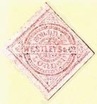 Westleys & Co. [binders], London, England (approx 23mm x 23mm). Courtesy of S. Loreck.
