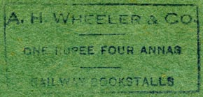 A.H. Wheeler & Co., India (inkstamp, 47mm x 22mm). Courtesy of Robert Behra.