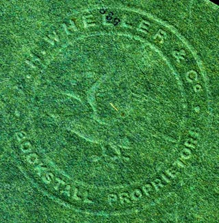 A.H. Wheeler & Co., India (blindstamp, 52mm dia.). Courtesy of Robert Behra.