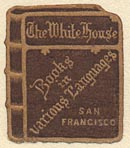The White House[department store], San Francisco, California (20mm x 23mm, c.1914).