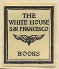The White House, San Francisco (19mm x 23mm, ca.1924).