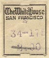 The White House, San Francisco (16mm x 19mm, ca.1924).