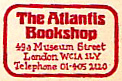 The Atlantis Bookshop, London, England. Courtesy of Michael Floreani.