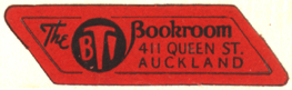 The B.T.I. Bookroom [Bible Training Institute], Auckland, New Zealand (35mm x 12mm). Courtesy of Siobhan McCormack.