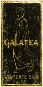 Galatea, Buenos Aires, Argentina (21mm x 45mm, c. 1961). Courtesy of Mario Martin.