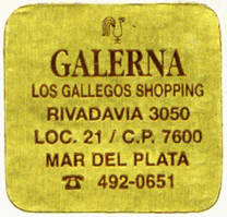 Galerna, Mar del Plata, Argentina (32mm x 32mm, c. 1995). Courtesy of Mario Martin.