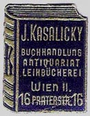J. Kasalicky, Vienna, Austria (21mm x 28mm, ca.1928). Courtesy of Michael Kunze.