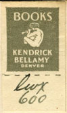 Kendrick Bellamy, Denver, Colorado (16mm x 28mm). Courtesy of Robert Behra.