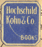 Hochschild, Kohn & Co., Baltimore, Maryland (13mm x 14mm, c.1920s). Courtesy of Third Place Books.
