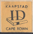 ID, Cape Town, South Africa (18mm x 18mm, c.1960). Courtesy of Third Place Books.