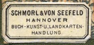 Schmorl & von Seefeld, Hannover, Germany (30mm x 14mm). Courtesy of Robert Behra.