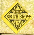 Smith Bros [binders], London, England (19mm x 20mm, ca.1890s). Courtesy of Robert Behra.